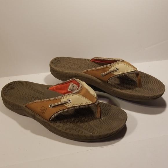9facd9ecd Sperry Shoes | Topsider Mens Slides Size 9 | Poshmark sperry top sider mens  flip flops